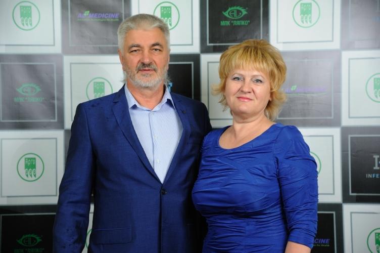 Доктор Ляпко Николай Григорьевич с Байкиной Екатериной